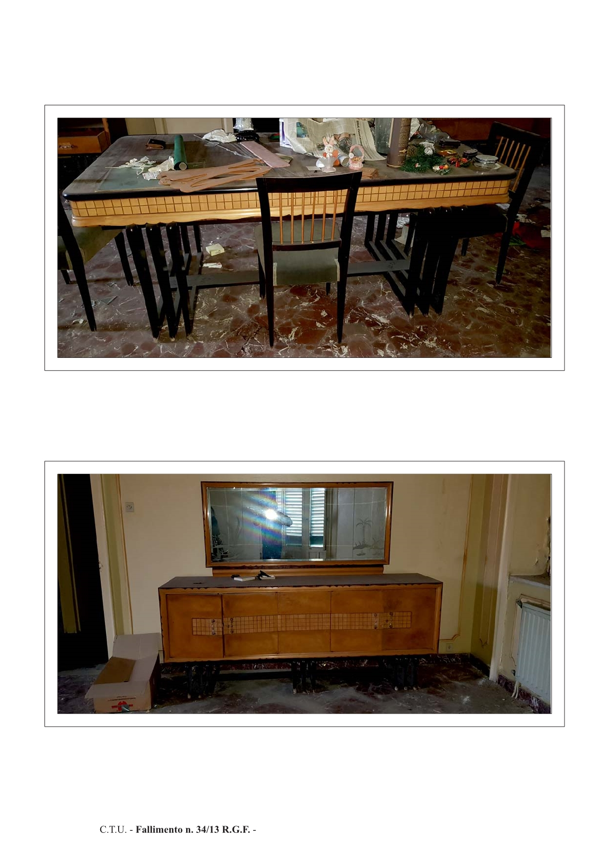 Mobili antichi per camera da pranzo for Camera da pranzo
