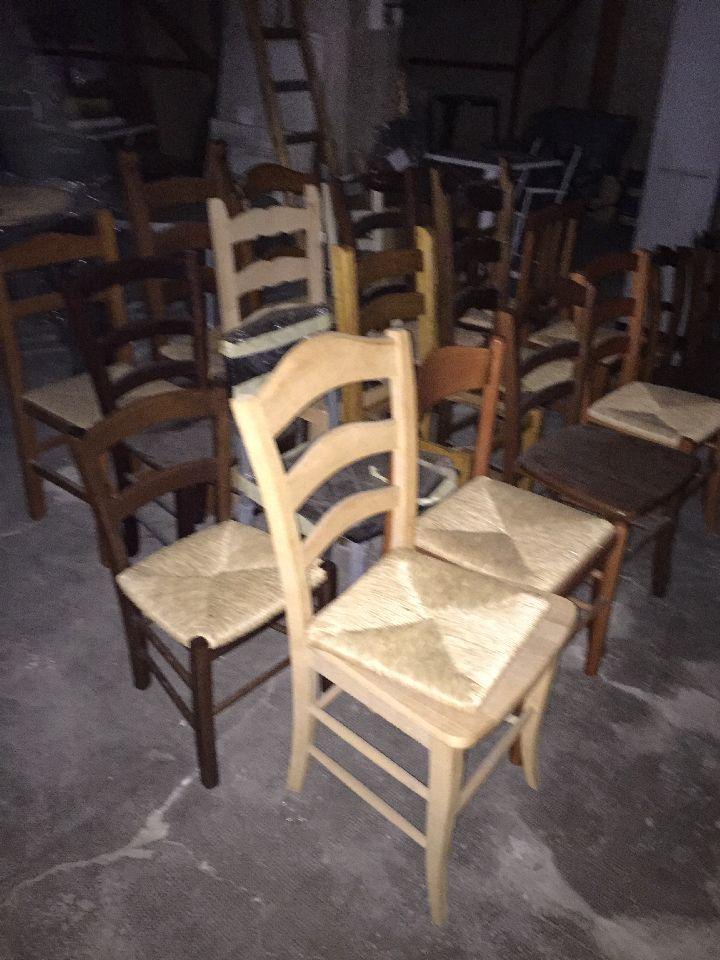 Modelli Sedie In Legno.N 18 Sedie In Legno Di Vari Modelli Due Prive Di Seduta N 1