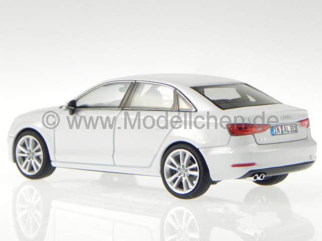 audi a3 limousine gletscher weiss modellauto herpa 1 43. Black Bedroom Furniture Sets. Home Design Ideas