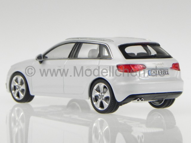 audi a3 sportback 2012 weiss modellauto schuco 1 43. Black Bedroom Furniture Sets. Home Design Ideas