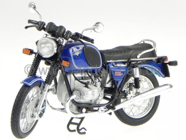 bmw r90 r 90 blau motorrad classic metall modell norev 1 18. Black Bedroom Furniture Sets. Home Design Ideas