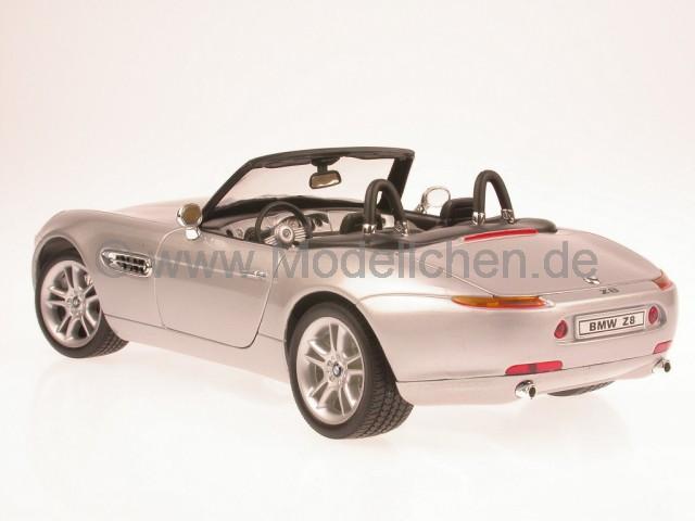 Bmw Z8 Silber Modellauto Welly 118