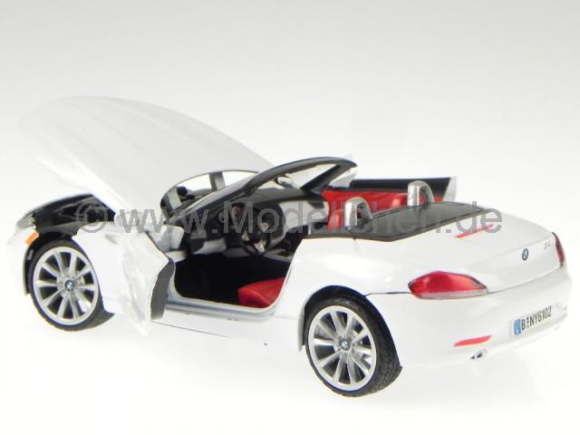 BMW Z4 Z 4 Roadster Rot Cabrio E89 Ab 2009 1//24 Motormax Modellauto Modell Auto