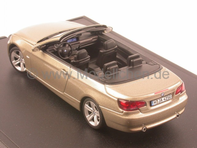 autoart bmw e93 3er cabrio platinbronze 6 modellauto. Black Bedroom Furniture Sets. Home Design Ideas
