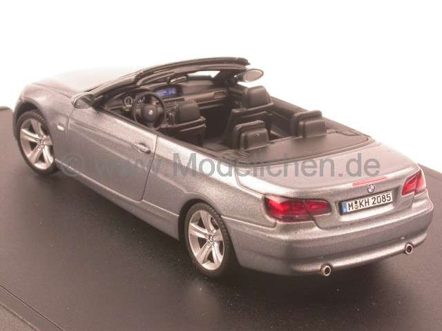 autoart bmw e93 3er cabrio spacegrau 7 modellauto autoart. Black Bedroom Furniture Sets. Home Design Ideas