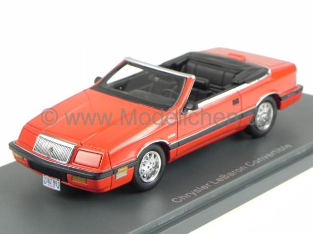 chrysler le baron cabrio rot modellauto 44990 neo american. Black Bedroom Furniture Sets. Home Design Ideas