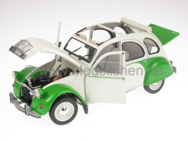 Norev 310510 Citroen 2CV Dolly weiss//grün 1986 Maßstab 1:64 Modellauto NEU!°