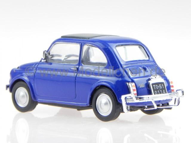 cararama fiat 500 l 1970 blau modellauto 39749 in vitrine. Black Bedroom Furniture Sets. Home Design Ideas