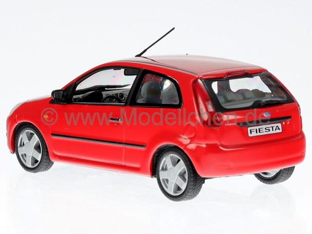 minichamps ford fiesta 2001 3d rot modellauto minichamps 1. Black Bedroom Furniture Sets. Home Design Ideas
