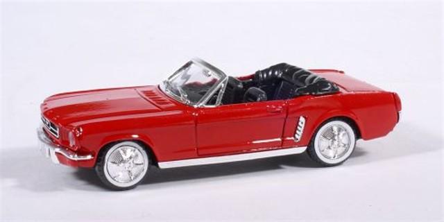 solido ford mustang cabrio 1964 1 2 rot modellauto solido. Black Bedroom Furniture Sets. Home Design Ideas