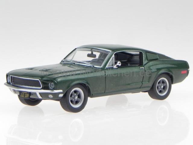 Ford Mustang GT 2011 grün//schwarz Modellauto 1:24 Maisto