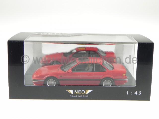 Honda Prelude MK3 1983 Rot Modellauto 43485 Neo 1:43