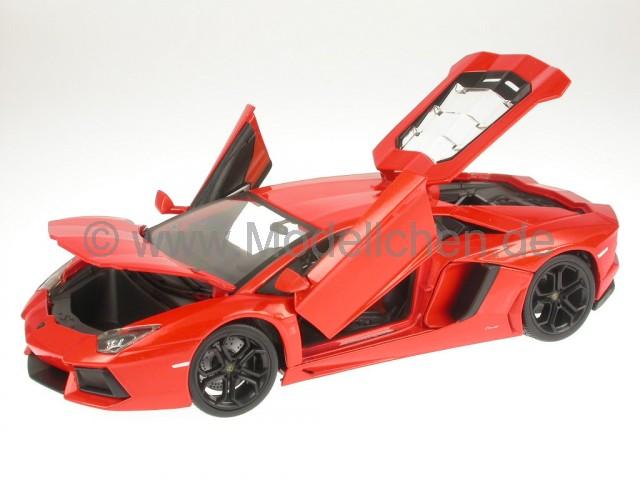 lamborghini aventador lp700 4 orange modellauto 18 11033o. Black Bedroom Furniture Sets. Home Design Ideas