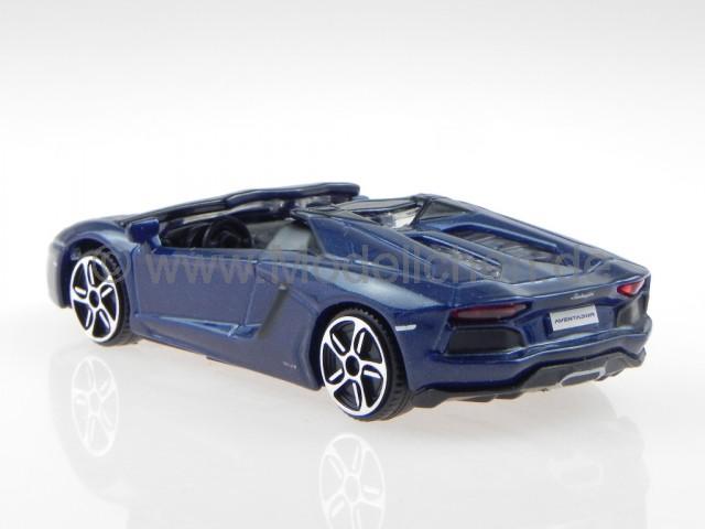 lamborghini aventador lp 700 4 roadster blau modellauto. Black Bedroom Furniture Sets. Home Design Ideas