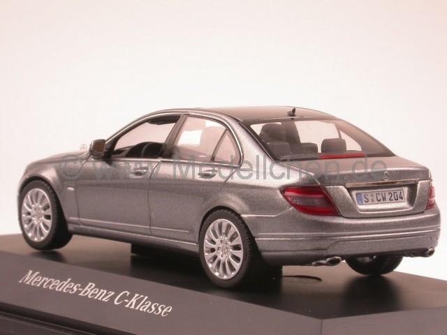 mercedes w204 c klasse palladiumsilber modellauto. Black Bedroom Furniture Sets. Home Design Ideas
