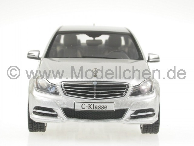 schuco mercedes w204 c klasse 2012 iridium silber. Black Bedroom Furniture Sets. Home Design Ideas