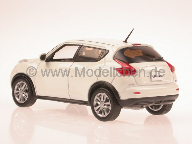 j collection nissan juke 2010 weiss jc199 modellauto j. Black Bedroom Furniture Sets. Home Design Ideas
