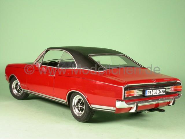 revell opel commodore coupe gs e rot modellauto revell 1 18. Black Bedroom Furniture Sets. Home Design Ideas