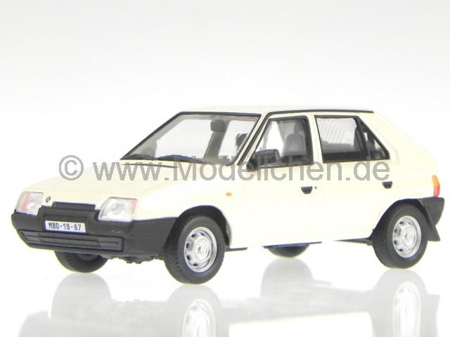 Skoda 110R Coupe 1978 diamant weiss Modellauto 143ABS-707EE Abrex 1:43