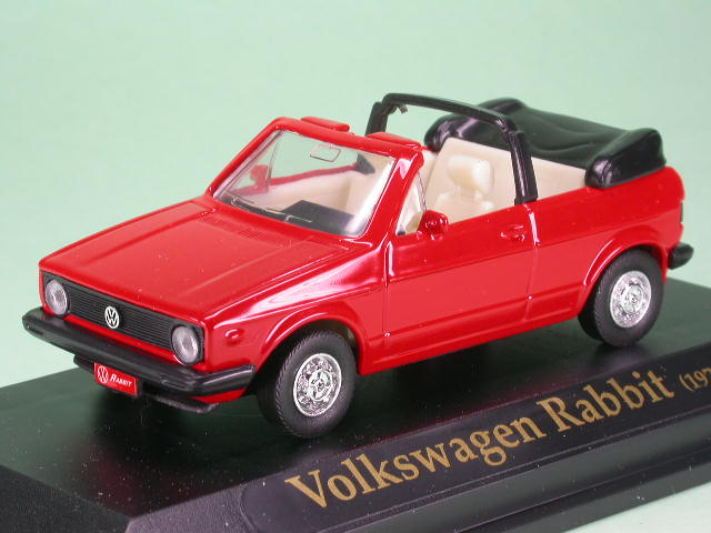 yatming vw golf 1 cabrio rot modellauto yatming 1 43. Black Bedroom Furniture Sets. Home Design Ideas