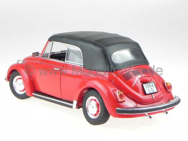 vw k fer 1302 ls cabriolet beetle rot modellauto 08470. Black Bedroom Furniture Sets. Home Design Ideas