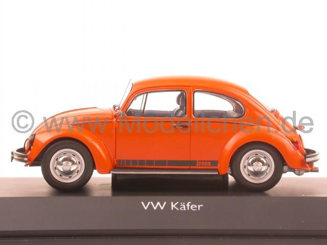 vw k fer jeansk fer beetle orange modellauto schuco 1 43. Black Bedroom Furniture Sets. Home Design Ideas