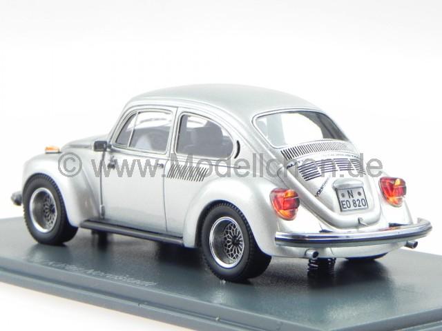 vw k fer nordstadt beetle silber modellauto 45820 neo 1 43. Black Bedroom Furniture Sets. Home Design Ideas