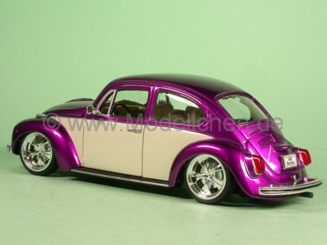 welly vw k fer beetle tuning lila modellauto welly 1 24. Black Bedroom Furniture Sets. Home Design Ideas