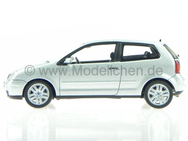 VW Polo 9N3 2007 silber Modellauto AutoArt 1:43