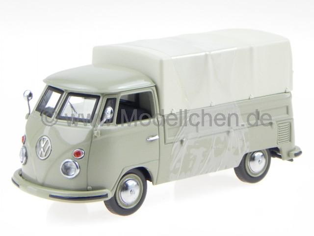 Neu Schuco 26443-1//87 VW T1b Pritsche-Plane rot