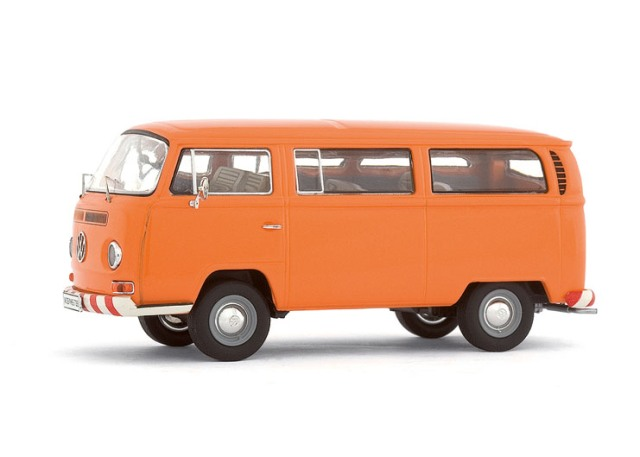 vw t2a t2 kombi orange bus bulli modellauto premium. Black Bedroom Furniture Sets. Home Design Ideas