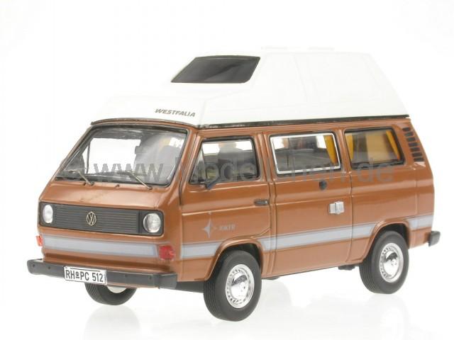 vw t3a westfalia joker hochdach braun bus bulli modellauto. Black Bedroom Furniture Sets. Home Design Ideas