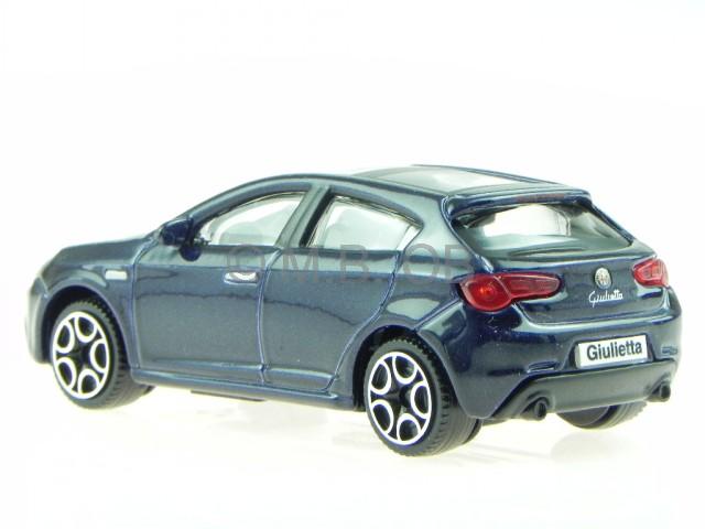 alfa romeo giulietta 2010 blau modellauto 30223 bburago 1. Black Bedroom Furniture Sets. Home Design Ideas