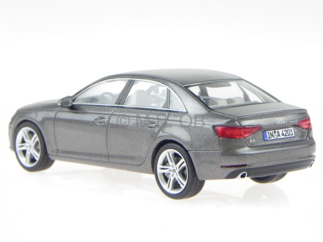 audi a4 b9 2015 argus browne modelcar spark 1 43 ebay. Black Bedroom Furniture Sets. Home Design Ideas
