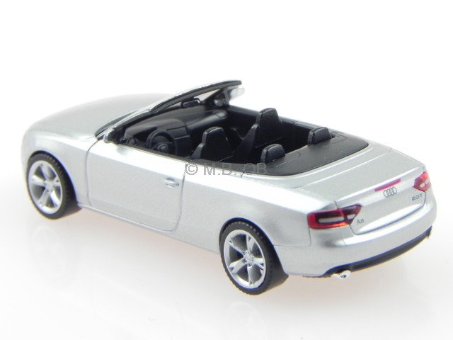 audi a5 cabrio eis silber modellauto herpa 1 87 ebay. Black Bedroom Furniture Sets. Home Design Ideas