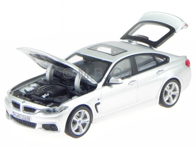 BMW F36 4er Gran Coupe glacierargent véhicule miniature Kyosho 1 43