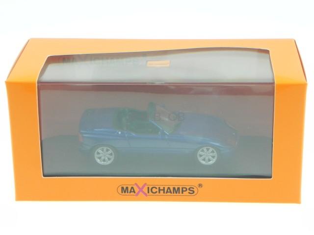 bmw z1 1991 blau metallic modellauto 940020101 maxichamps 1 43 ebay. Black Bedroom Furniture Sets. Home Design Ideas