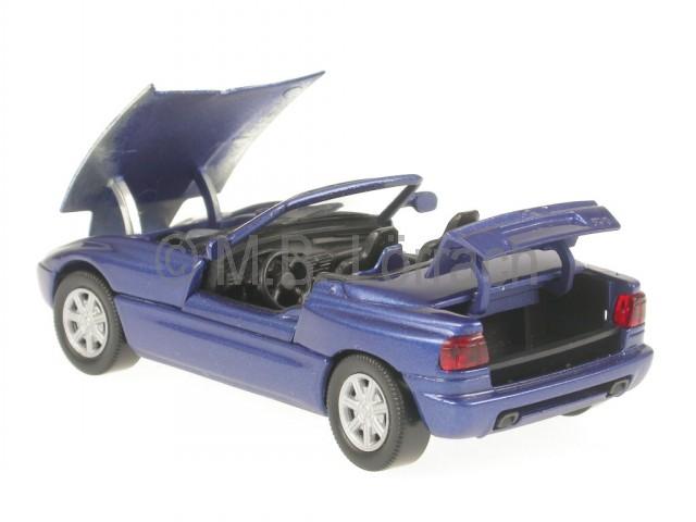 bmw z1 blue diecast model car schabak 1 43. Black Bedroom Furniture Sets. Home Design Ideas