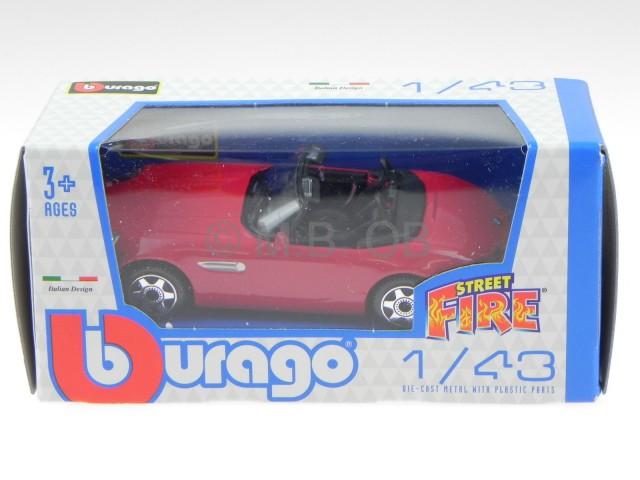 bmw z8 roadster rot modellauto 30071 bburago 1 43 ebay. Black Bedroom Furniture Sets. Home Design Ideas