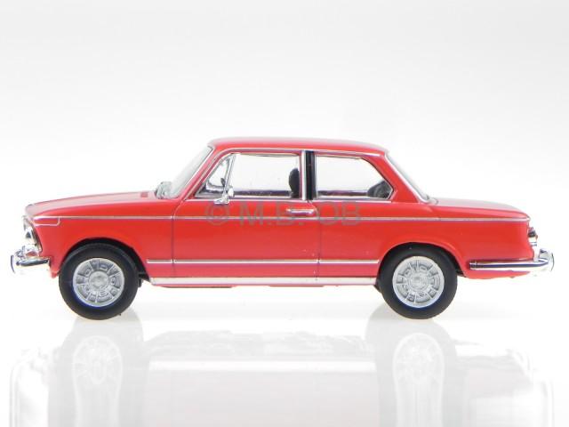 BMW e10 2002 Ti rot 1968 Modellauto WB195 Whitebox 1:43