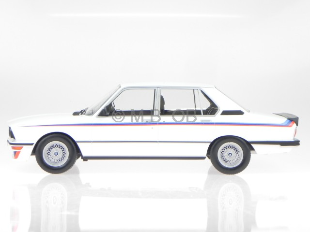 BMW e12 M535i 1980 white modelcar 183265 Norev 1:18 4058124206910 | eBay