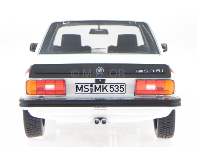 1980 BMW 535i M 535i E12 weiss 1:18 Norev 183265