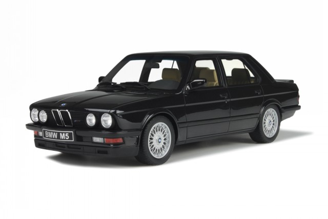 BMW e28 M5 nero modellino OT184 Otto 1:18