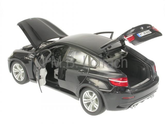 bmw e71 x6 schwarz modellauto bburago 1 18 4058124142362. Black Bedroom Furniture Sets. Home Design Ideas