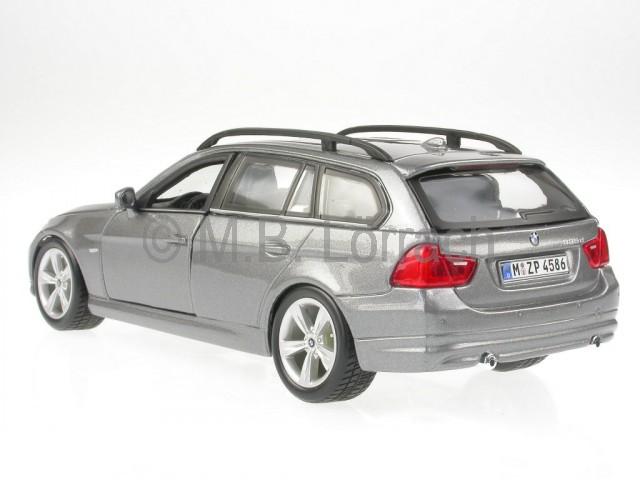 bmw e91 3er touring grau modellauto bburago 1 24 ebay. Black Bedroom Furniture Sets. Home Design Ideas
