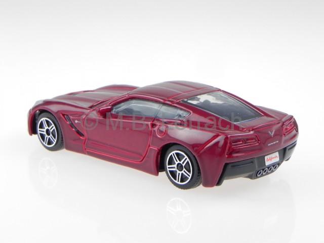 chevrolet corvette c7 stingray rot 2014 modellauto 30250. Black Bedroom Furniture Sets. Home Design Ideas