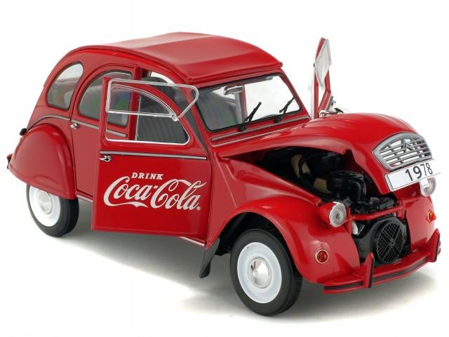 citroen 2cv6 2 cv ente 1978 coca cola modellauto 51850008