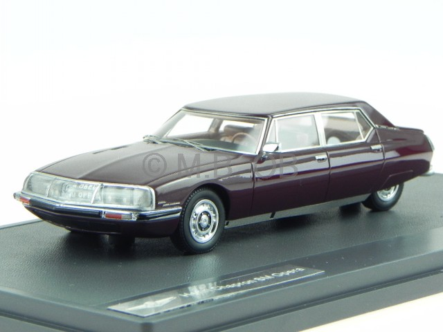 Citroen SM Opera Chapron marron 1971 véhicule miniature MX10304-012 Matrix 1 43