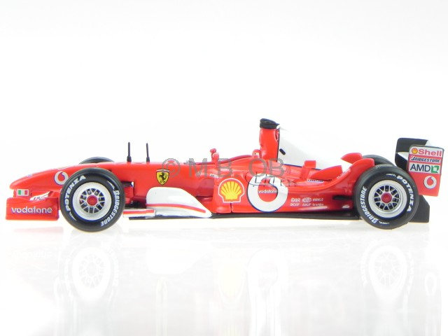 ferrari f2003 ga michael schumacher formel 1 modellauto. Black Bedroom Furniture Sets. Home Design Ideas