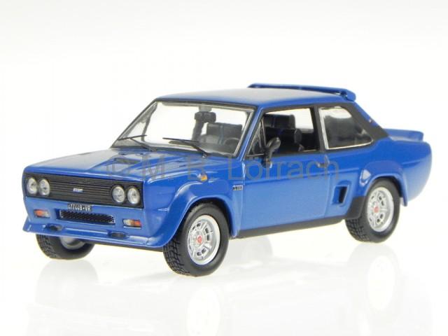 Fiat 131 Abarth Abarth Abarth 1976 bleu véhicule miniature 770171 Norev 1 43 4a953f